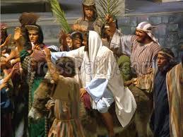 Christ enters Jerusalem