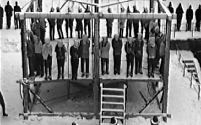 an introduction to the history of the mass execution in minnesota The most infamous execution of history occurred approximately 29 ad with the crucifixion of jesus christ outside jerusalem  , massachusetts limited its death penalty to first-degree murder .