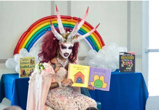 Satanic Drag Queen Reads To Young Children In Michelle Obama's Library – It Is Being Put To Good Use; Isn't It?