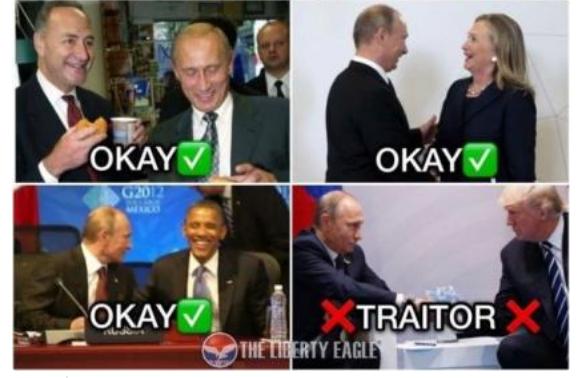 Putin & Left O.K. Putin & Trump Nokay!
