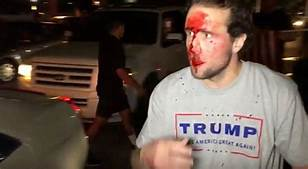 Violence Against Trump Supporters