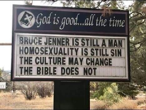 culture changes but not the bible