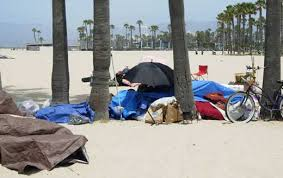 Venice beach homeless II