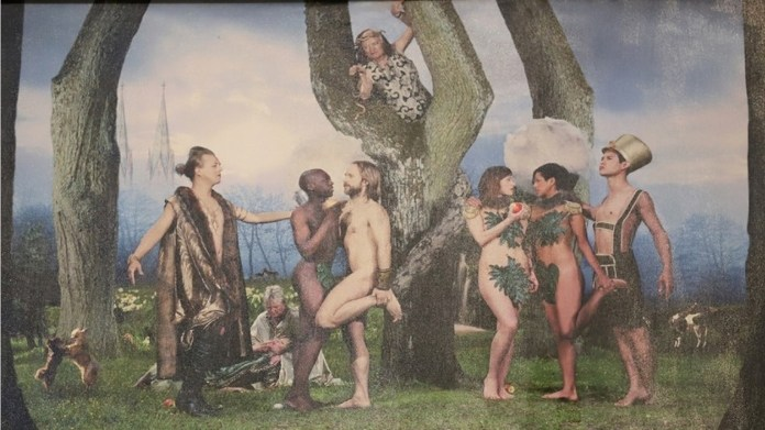Malmo Sweden Church Takes Down Picture Of Adam & Eve & Puts Up Adam & Steve