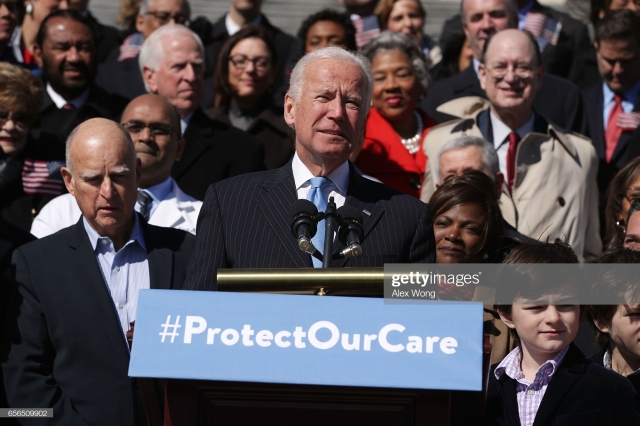 Joe Biden & Jerry Brown