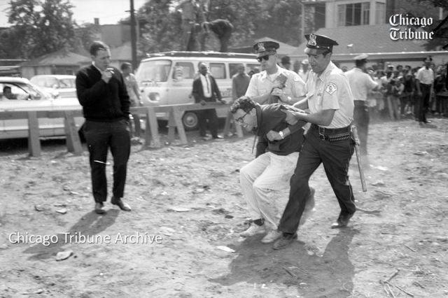Bernie Sanders 1963 arrest